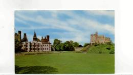 Postcard - The Castle & Keep Cardiff Very Good - Unclassified
