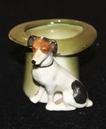 Porcelaine_17_le Chien Et Le Chapeau. - Céramiques