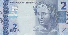 BRAZIL 2 REAIS 2010 VF - Brasilien