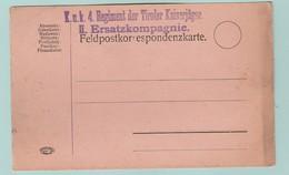 AUT.4 Censures/Zensur   KuK 4 Regiment Der Tiroler Kaiserjäger II Ersatzkompagnie. - Covers & Documents