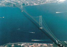 1 AK Japan * Die Akashi-Kaikyō-Brücke - Sie Verbindet Die Hauptinsel Honshū Mit Der Insel Awaji-shima - Sonstige