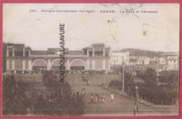 SENEGAL---La Gare Et L'Arsenal---animé - Senegal