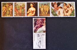 TABLEAUX DE RAPHAËL 1982 - NEUFS ** - YT 1966/72 - MI 3546/52 - Paraguay