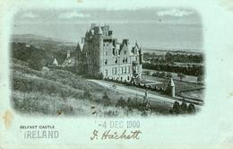 (16)  CPA  Belfast Castel Ireland 1900     (bon Etat) - Londonderry