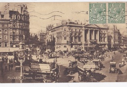LONDON - PICCADILLY CIRCUS VG AUTENTICA 100% - Piccadilly Circus