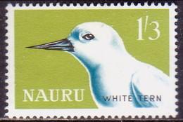 NAURU 1965 SG #62 1sh3d MNH White Tern - Nauru