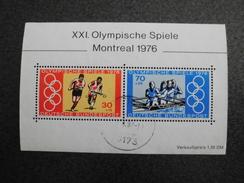 Germany Deutsche Bundespost 1976 Olympic Games Hockey Rowing
