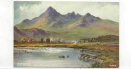 Postcard - Art - E.H.Thompson - Sligachan & Sgurr-Nan-Gillean, Skye Very Good - Cartoline