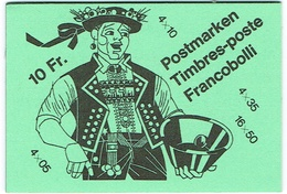 **CARNET 1985 NEUF .C/DES TIMBRES SUISSES Nr:0-80. ZUMSTEIN Nr:58. Y&TELLIER Nr:C1033a(II)** - Carnets