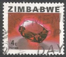 Zimbabwe. 1980 Definitives. 4c Used. SG 578 - Zimbabwe (1980-...)
