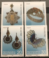 Macedonia, 2000. Mi: 189/92 (MNH)