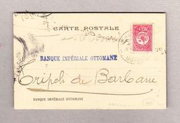 Mazedonien Monastir 20para Postkarte 1.12.1909 Nach Tripoli - Macédoine