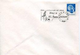 18587 Romania, Special Postmark 1990 European Football Champ.   Dinamo Vs.  Fc. Porto