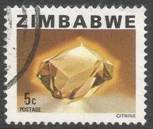 Zimbabwe. 1980 Definitives. 5c Used. SG 579 - Zimbabwe (1980-...)