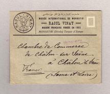 Mazedonien Monastir (Bitolia) 19.1.1912 Drucksache Brief Nach Frankreich Mit Waagrechtes Paar 5paras - Macedonia