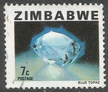 Zimbabwe. 1980 Definitives. 7c Used. SG 580 - Zimbabwe (1980-...)