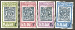 Malawi 1966 SG 263-66 Anniversary Postal Services Mounted Mint