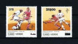 Cabo Verde  Nº Yvert  695/6 (sobrecarga)  En Nuevo