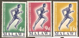 Malawi 1970 SG 351-3 Commonwealth Games Unmounted Mint
