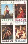 Malawi 1971 SG 403-06 Christmas Unmounted Mint