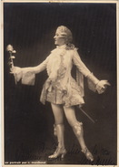 Grande Photo Autographe Le Chevalier à La Rose à Madame Misson ...  Cinema Théatre 23x16cm