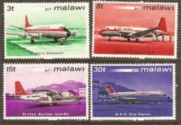 Malawi 1972 SG 408-11 Air Malawi Unmounted Mint