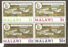 Malawi 1974 SG 462-5 Anniversary Independence Unmounted Mint