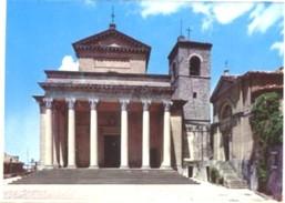 Repubblica Di San Marino - Lotto 3 Fotografie: BASILICA, PALAZZO DEL GOVERNO, PRIMA TORRE NOTTURNO - PERFETTA N36 - Riproduzioni