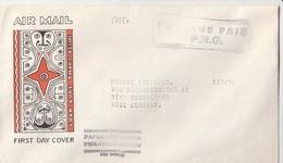 17287# PAPOUASIE NOUVELLE GUINEE LETTRE Obl POSTAGE PAID P.N.G. 1978 PAPUA NEW GUINEA ESCHWELLER GERMANY - Papouasie-Nouvelle-Guinée