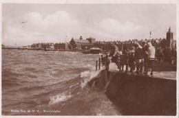 MORECAMBE - SOME SEA AT W. F. VG AUTENTICA 100% - Inghilterra