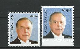 Azerbaijan 2004 & 2006. President Heydar Aliyev, 1923-2003.MNH - Azerbaïjan