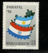 423859296 ARGENTINIE DB 1992 POSTFRIS MINTNEVER HINGED POSTFRIS NEUF YVERT 1809 - Unused Stamps