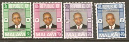 Malawi 1976 SG 525-8 Anniversary Independence Unmounted Mint