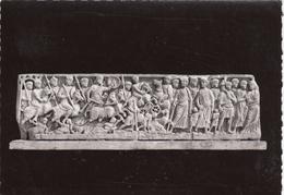 G , Cp , ARTS , ARLES , Musée Lapidaire D'Art Chrétien , Sarcophage Du Passage De La Mer Rouge (fin IVe S.) - Fine Arts