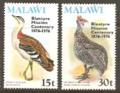 Malawi 1976 SG 535-6 Blantyre Mission Unmounted Mint