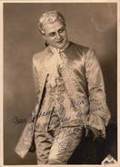 Grande Photo Autographe De ..... Opéra Chant Théâtre 23x16cm