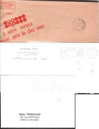 FRANCE '62 BAPAUME P.P.' 1980/93  2  MARQUES POSTALES - Marcophilie (Lettres)