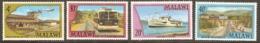 Malawi 1977 SG 547-50 Transport Unmounted Mint