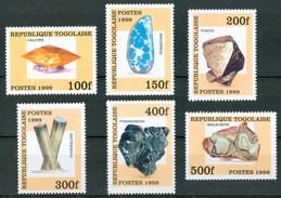 1999 Togo Gemme Gems Minerali Minerals Set MNH** Fo105 - Minerals