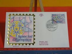 Monaco > FDC > Spécial Olympics - 3.4.1995 - 1er Jour, Coté 4 € - FDC