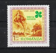 2006 - LOTERIA ROMANA  Mi No 6123  MNH