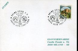 18612 Italia, Special Postmark 1997 Udine,  UEFA Cup 1997/98  Udinese  Vs. Ajax