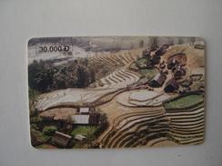 WIETNAM USED CARDS  CHIPS LANDSCAPE  2 SCAN - Vietnam