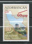 Azerbaijan 2007 The 80th Anniversary Of Nakhichevan Autonomous Republic.Overprinted.1 V.MNH - Azerbaïjan