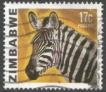 Zimbabwe. 1980 Definitives. 17c Used. SG 585 - Zimbabwe (1980-...)