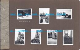 Lot 75 PARIS  Rue Saint ST Roch Statue Notre Dame Parc Jardin Habitation - Places