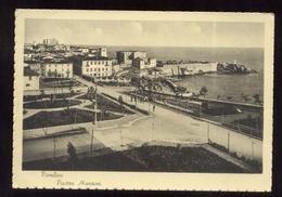 PIOMBINO - LIVORNO - ANNI 40 - PIAZZA MANZONI - Livorno