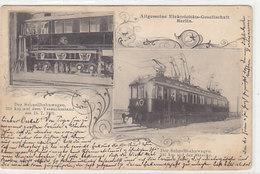 Allg.Elektrizitäts-Ges.Berlin - Der Schnellwagen Auf Dem Versuchsstand - 1901    (PA-17-140828) - Autres