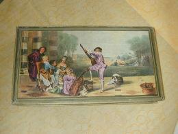 Boite CARTONNEE De Chocolat CEMOI Peinture D'après WATTEAU - Scatole