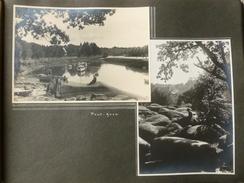 PONT AVEN BANNALEC BIGOUDENE St GILLES CROIX DE VIE PROCESSION  1937 - Lieux